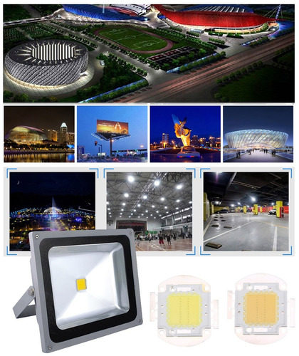 para led cuenta luz 5 pcs 20w lampara integrada calido