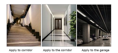 para led soporte base lampara deteccion infrarroja blanco