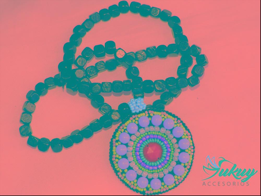 f6e2d2d6c257 Para Mamá! Medallones Y Collares. Moda Con Sabor Artesanal! -   150.00 en  Mercado Libre