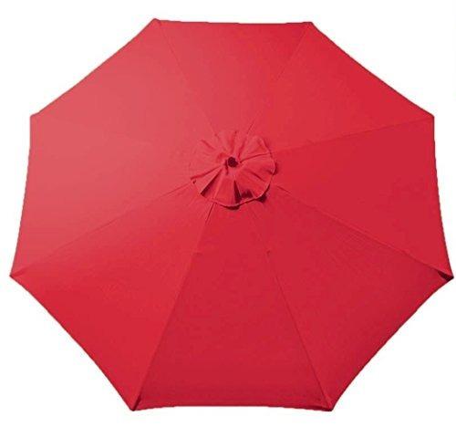 para mantener el toldo del paraguas de repuesto para 9 pi...