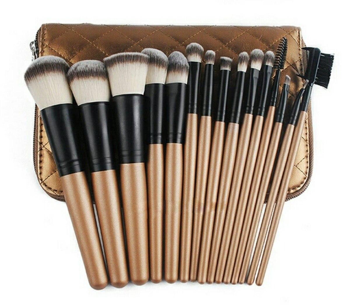 kit de brochas para maquillaje profesional