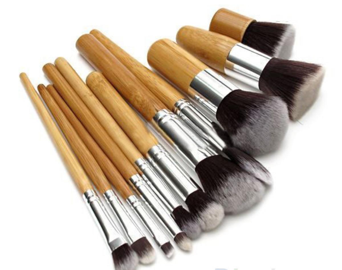 set de brochas profesionales para maquillaje 11 piezas