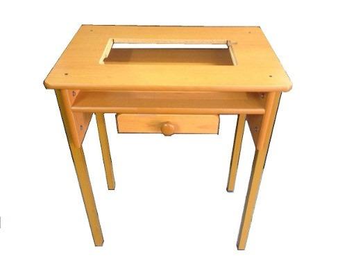 Mesa para maquina de coser casera singer de metal bs 1 for Diseno de muebles de maquinas de coser