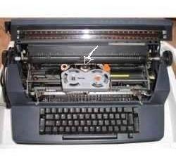para máquina escrever