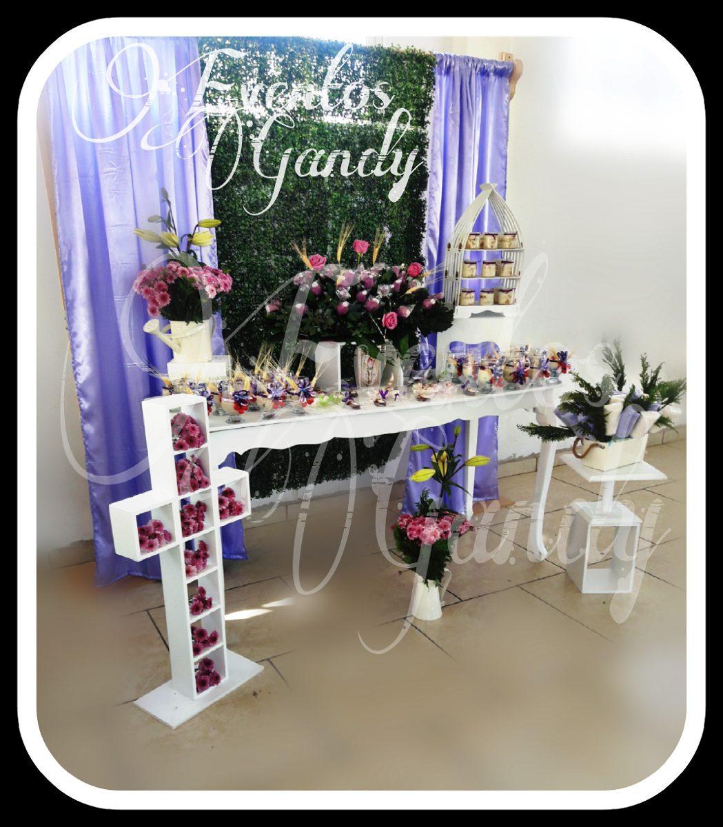 Backdrop cortinero fondo para mesa de dulces for Bases para colgar cortinas