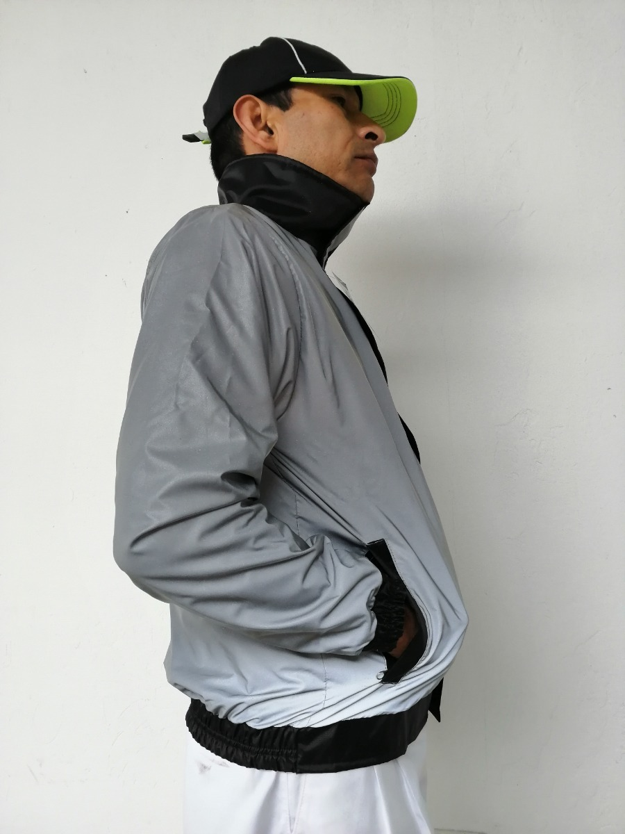 05e01a2a7b4 para moto chaqueta. Cargando zoom... chaqueta totalmente 100% reflectiva  impermeable ...