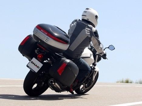 Ba 250 L Para Moto Maletero Shad Sh50 2 Cascos Con Espaldar