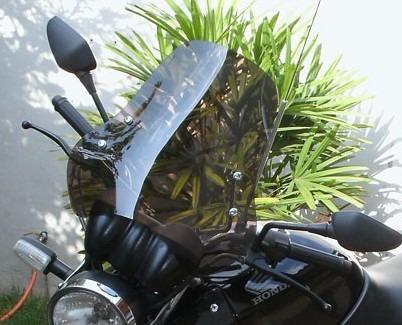 para motos para-brisa bolha