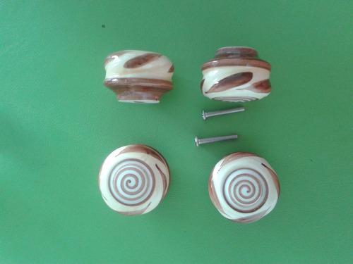 para muebles tiradores ceramica