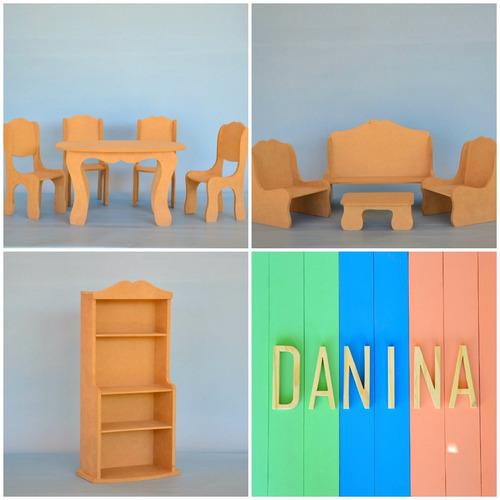 para muñecas juegos muebles