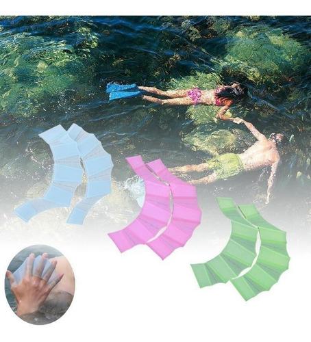 para natación paletas