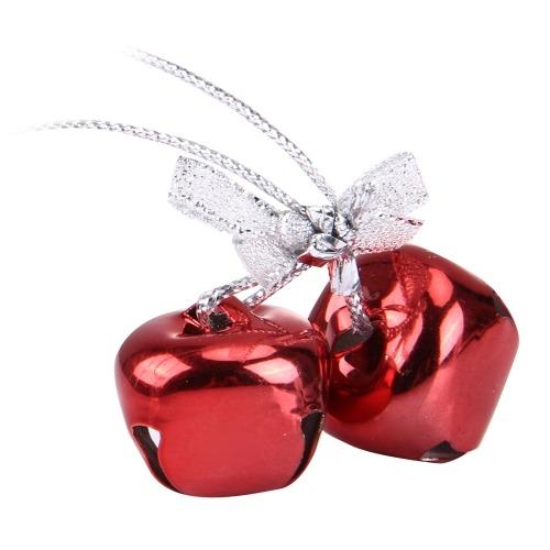 Para Navidad Adorno Colgante Soltar Campana Color Rojo Rojo ...