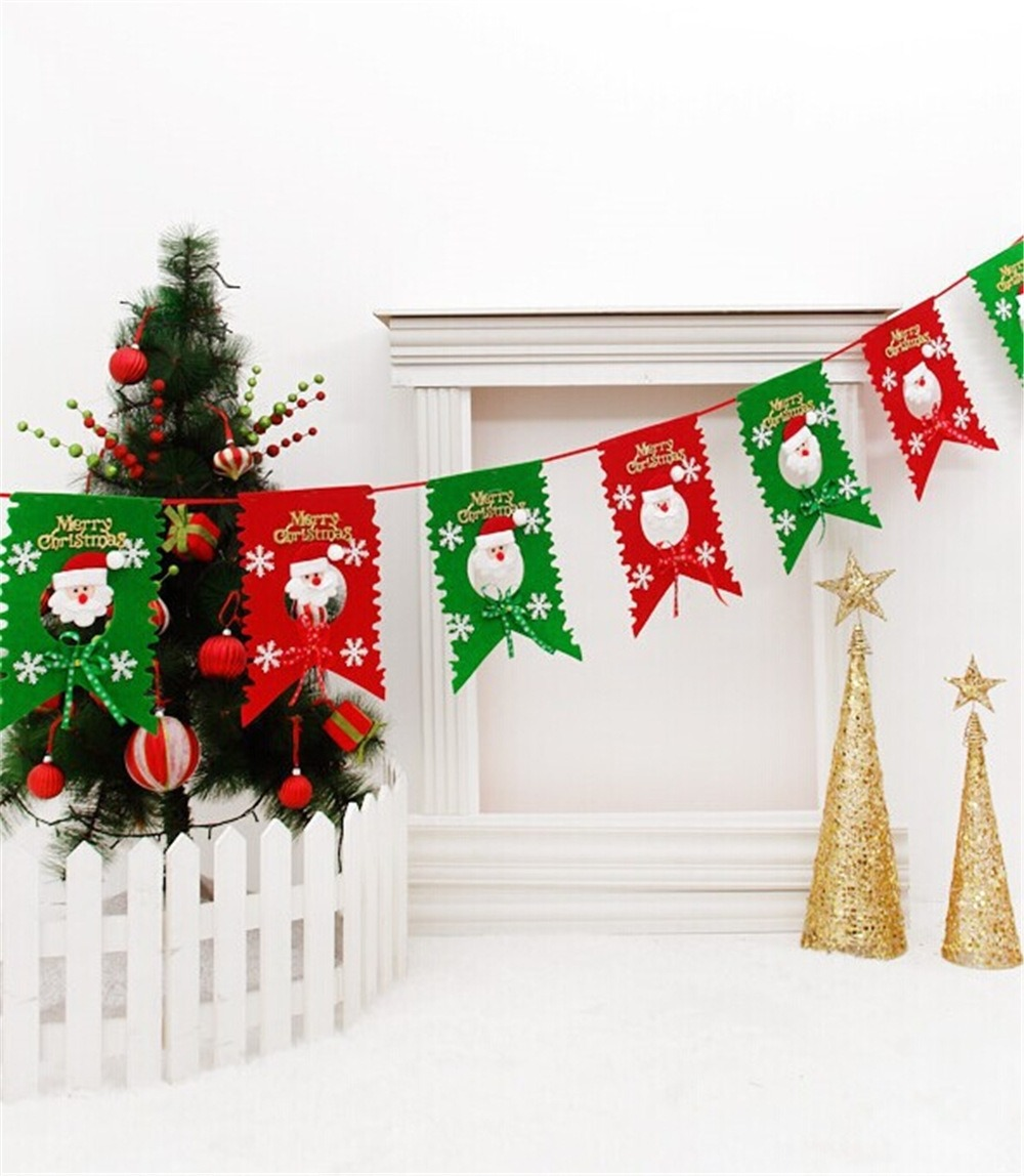 Para Navidad Adorno Colgante Soltar No Tejido Decoracion - $ 539.00 ...