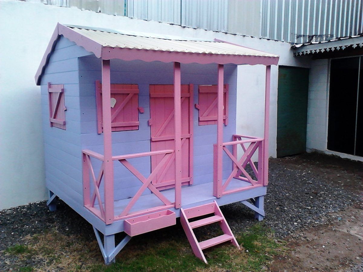 Casita infantil de madera para chicos para ni os 12 - Casa infantiles de madera ...