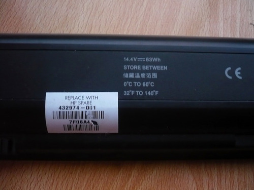 para notebook batería