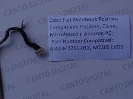 para notebook cabo flat