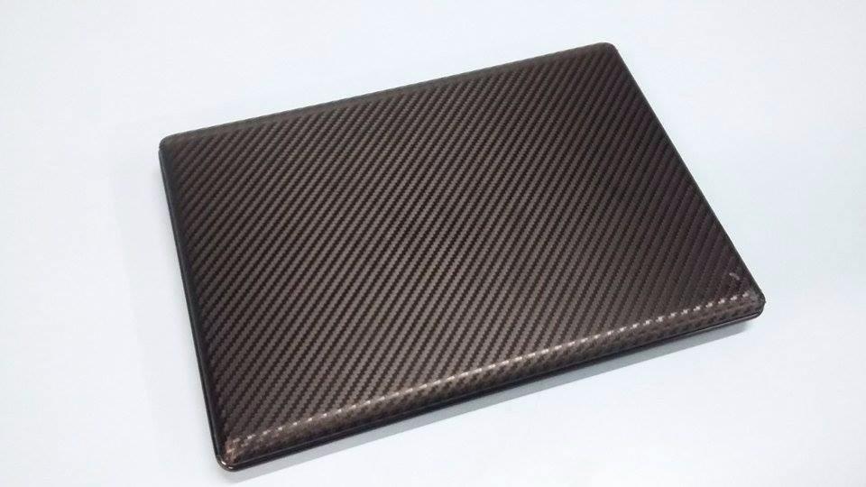 Artesanato Jornais ~ Adesivo Skin Para Notebook 14 Fibra De Carbono R$ 16,49 em Mercado Livre