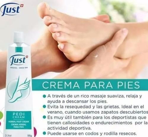 para pies crema