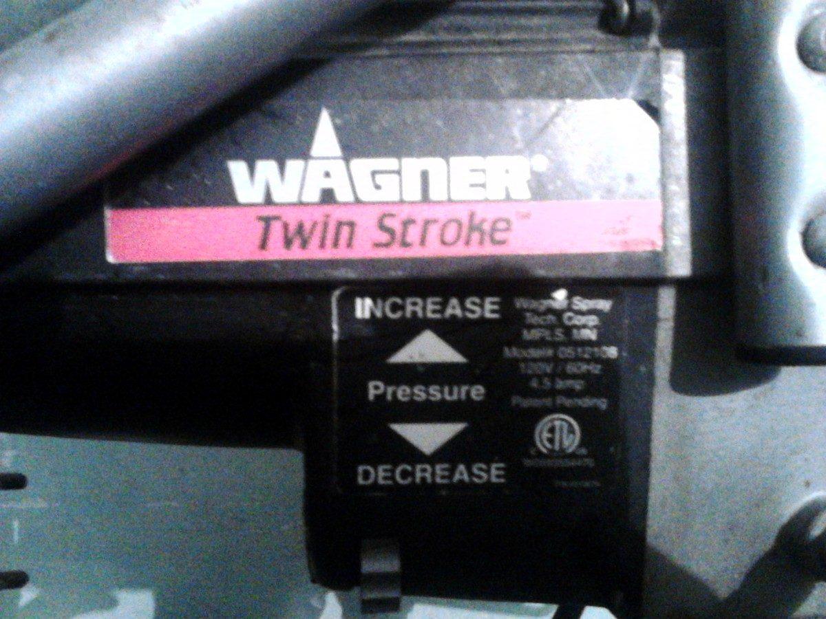 Maquina para pintar wagner twin stroke 8 en - Maquinas de pintar ...