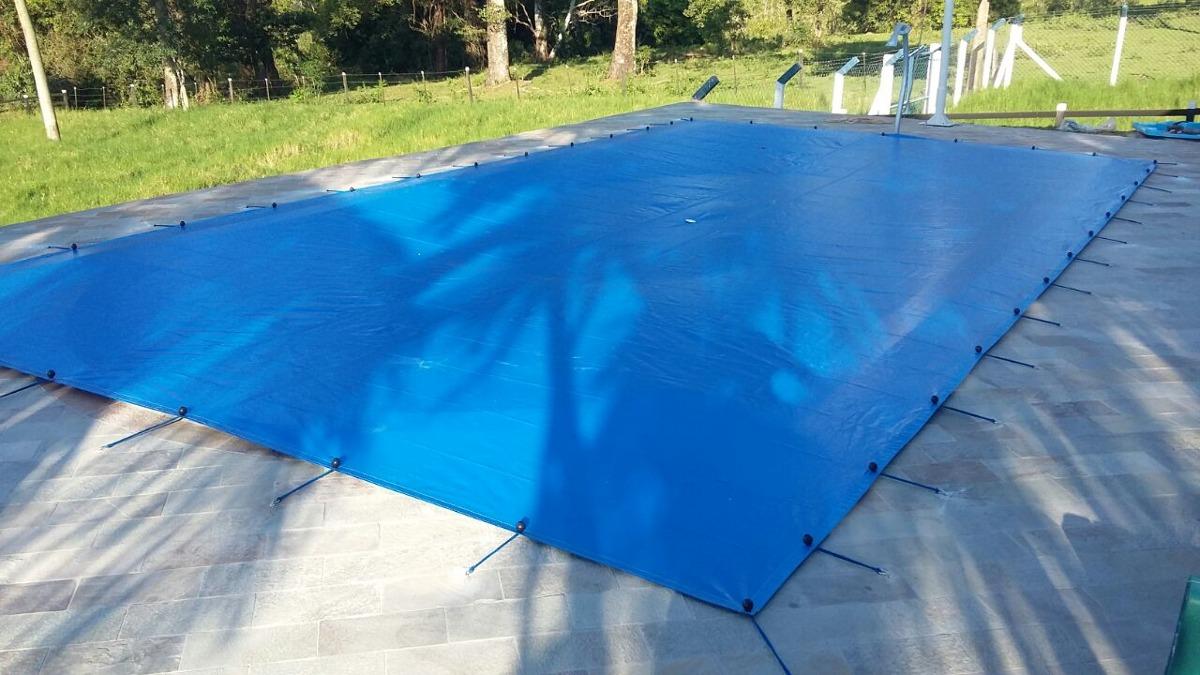 Capa para piscina sl 300 micra suporta peso 9 5x4 5 mts for Piscina 5x4