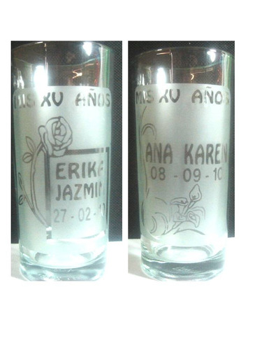 para recuerdos, vasos