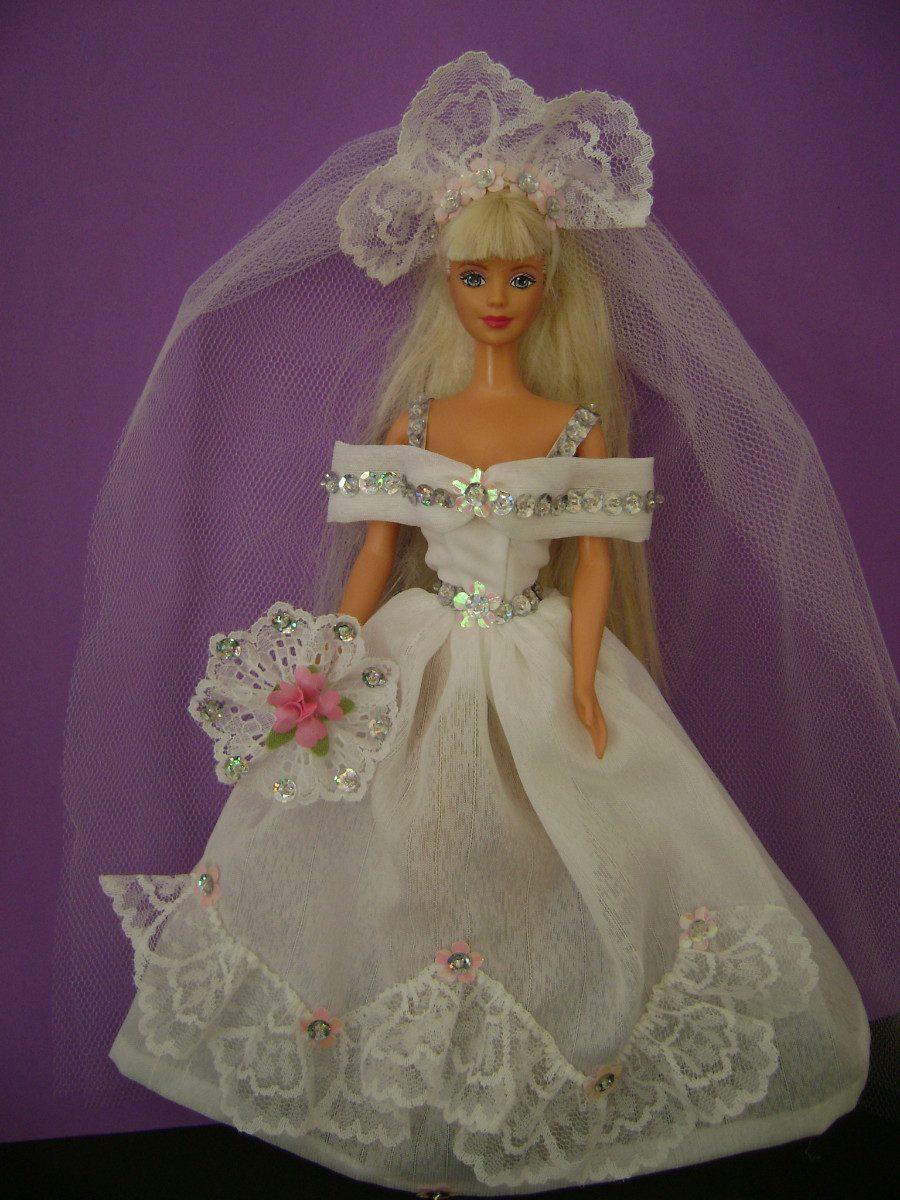 Magnífico Juegos De Barbie Para Vestir De Novia Elaboración ...