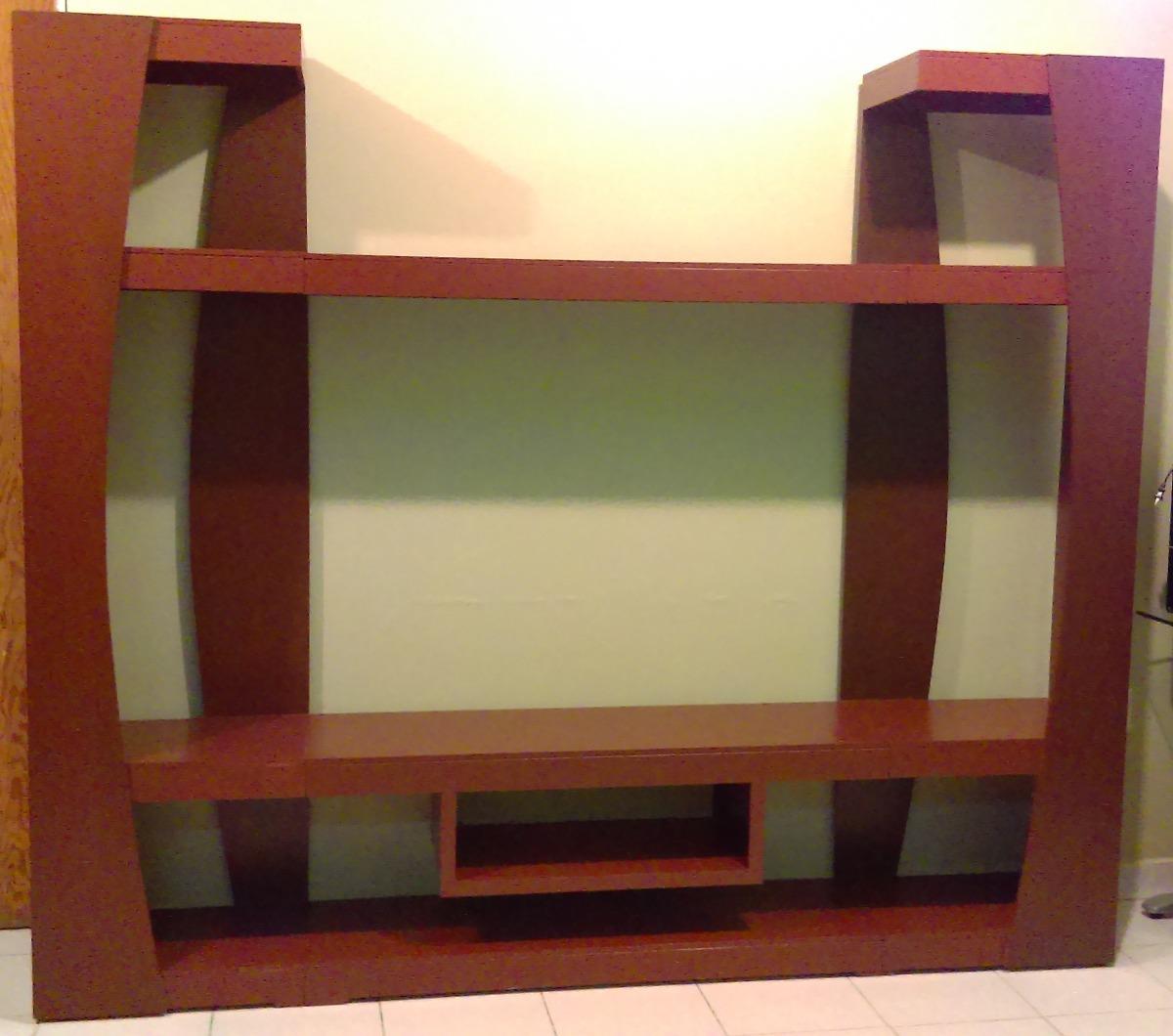 Centro entretenimiento mueble modular para sala de tv for Muebles modernos para sala