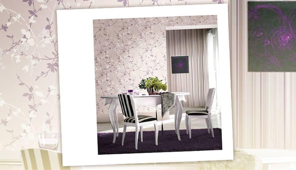 Papel de parede para sala italiano lav vel 53cmx10m for Papel para paredes salon