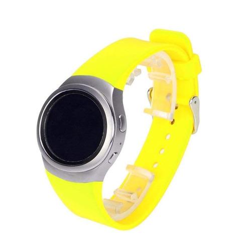 para samsung engranaje s2 reloj banda - suave silicona depor