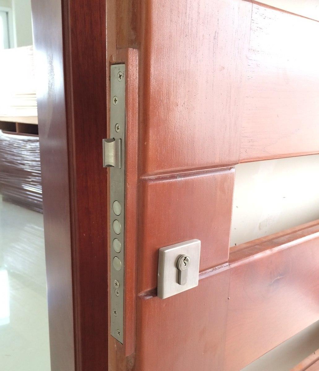 Cerradura para puerta de m xima seguridad 4 pasadores - Puertas de seguridad para casas ...