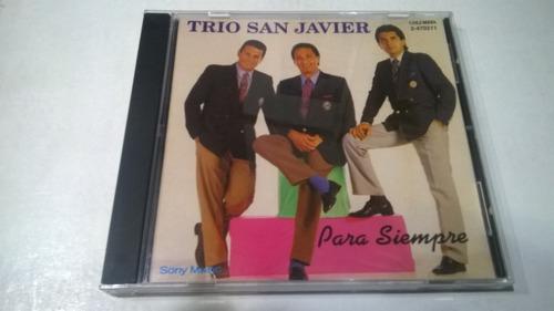 para siempre, trío san javier cd 1993 industria nacional ex