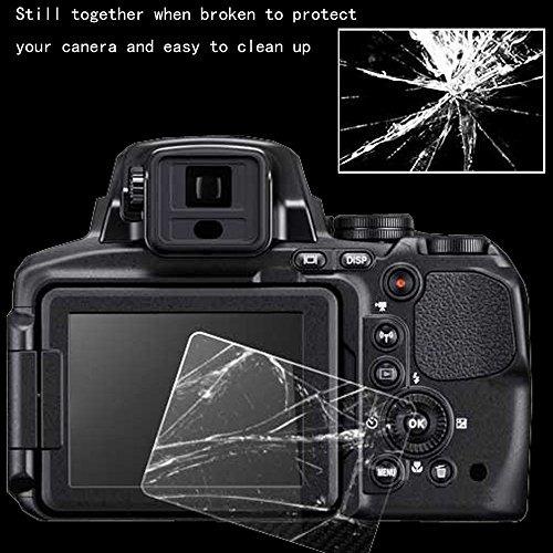 para sony a7 iii protector de pantalla de vidrio 2 paquete p