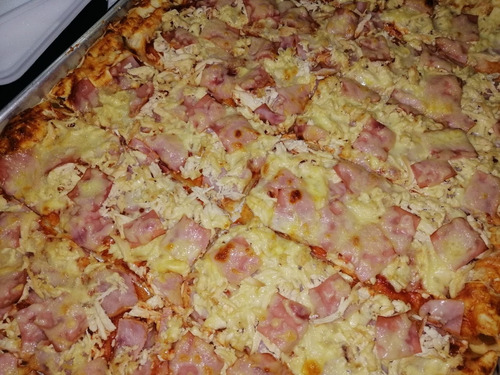 para tus eventos! deliciosas pizzas caseras por encargos