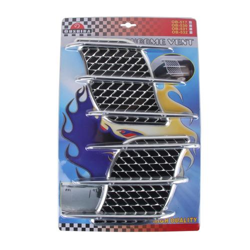 para vehiculo adhesivo decorativo oushiba ob-517 2 pcs hood