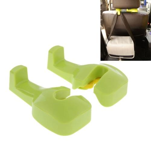 para vehiculo auto sujetador clip 1 pair hidden type verde