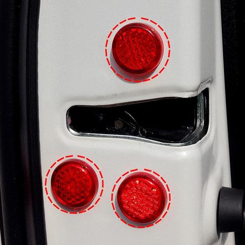 para vehiculo etiqueta advertencia 12 pcs puerta prueba