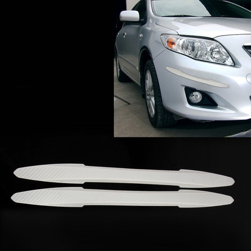 para vehiculo tope 2 pcs tm-216 doble flecha forma blanco