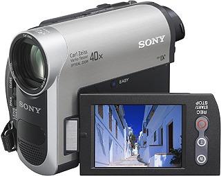 para video camara sony