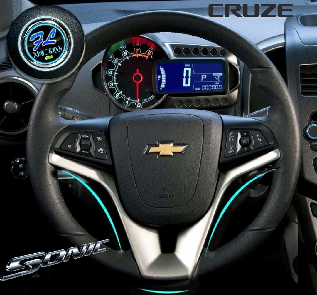 Embellecedor Deportivo Para Volante Chevrolet Sonic Cruze ...