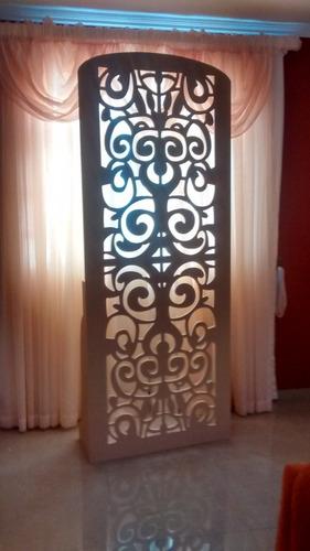 paraban decorativo candy bar 85x220cm mdf crudo