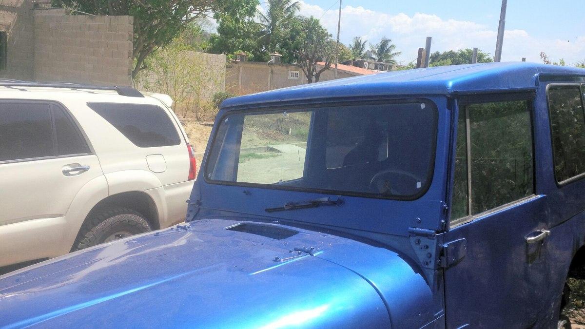 Parabrisa Jeep Cj5, Cj6, Cj7, Wrangler, Tj, Rubicon.nuevo!! - Bs. 75 ...