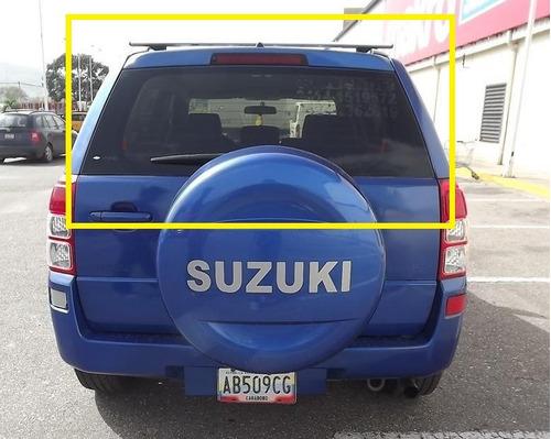 parabrisa trasero vidrio grand vitara suzuki 2008-2010