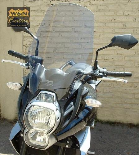 parabrisas kawa versys650 elevada mod2011/14 sanmiguel bikes
