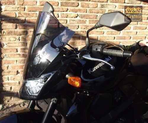 parabrisas moto naked cupula burbuja 11n001 cuotas