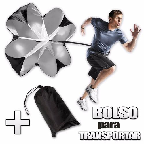 paracaidas de velocidad entrenamiento con cinturon despegue
