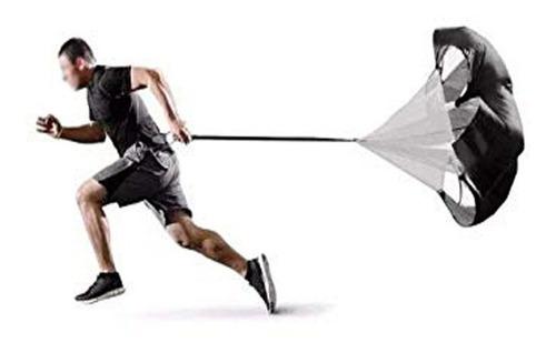 paracaidas deportivo entrenamiento correr velocidad agilidad