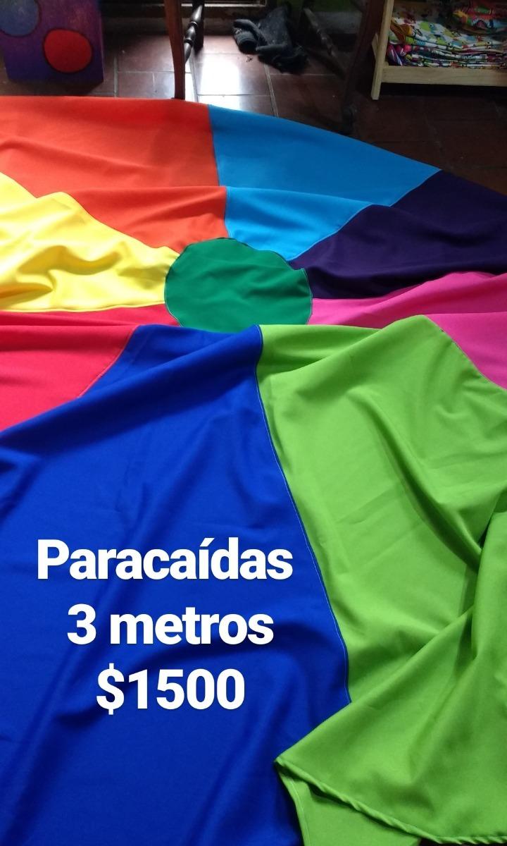 Paracaidas Juegos Gigantes Para Animaciones 1 500 00 En Mercado