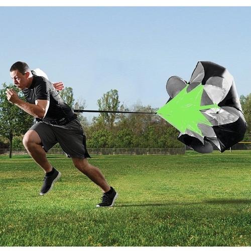 paracaídas para mejorar tu resistencia o entrenamiento