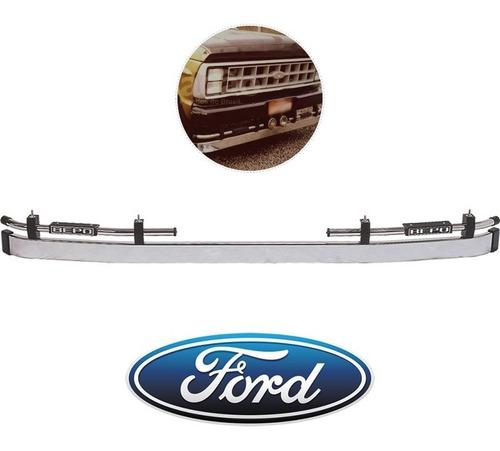 parachoque argentino ford f4000 antiga até 1994 bepo cromado