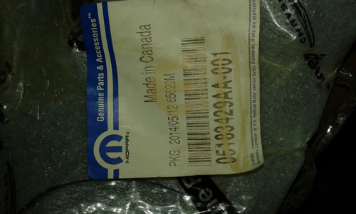 parachoque del comander 2008 05183429aa